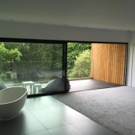 This huge 2-panel set of SUNFLEX SVG83 sliding doors features panels of 3m wide