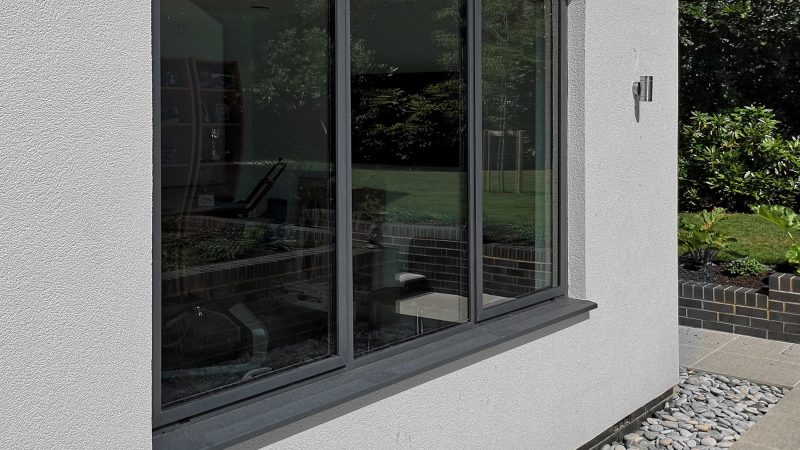 SAL300Slim aluminium windows