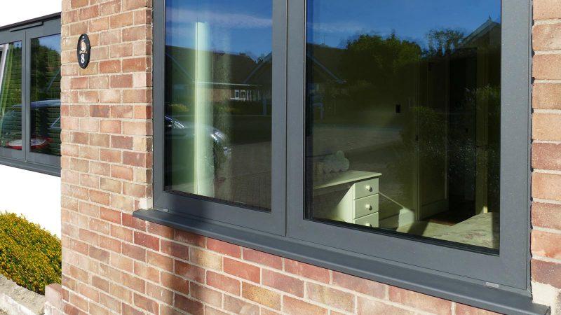 SEF aluminium windows