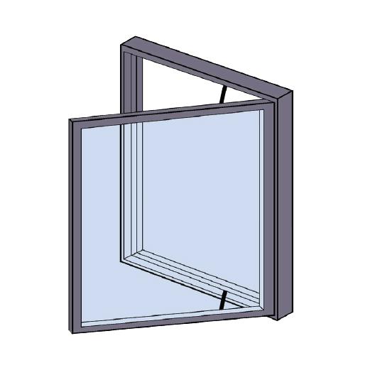 Side Hung Aluminium Windows