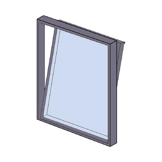 Tilt& Turn Aluminium Windows