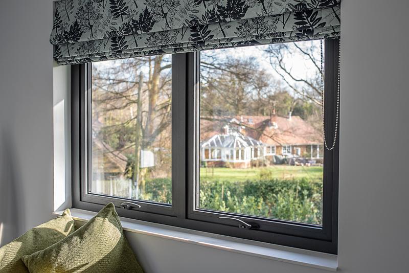 SEF Aluminium Top Hung Window